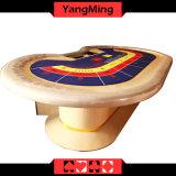 2017 Nova Qualidade de Design Personalizado Casino Baccarat Mesa de pôquer dedicado para 10 Player Casino Jogos de Poker Use Ym-Ba08