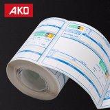 Stempelschneidene verpackenfreigabe-Papier-direkte Fabrik-Verschiffen-Kennsatz-Logistik-Kennsätze