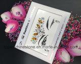 Collant acrylique de diamants de renivellement d'oeil de collants de Rhinestone de face d'oeil d'arts du spectacle de collant de tatouage (E15)