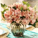 Flor artificial do Hydrangea de seda real do toque em várias cores para a decoração &Wedding Home