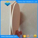 Libro Blanco de la hexagonal personalizadas Posavasos de Cristal blanco