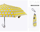 2018 женщин прозрачный зонтик складная монохромный солнечным зонтом из расчета Леди Дождя/Clear зонтиками от солнца