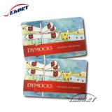 Commerce de gros version imprimable des cartes-cadeaux en plastique de code à barres des cartes de membre