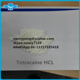 HCl CAS Tetracaine порошка хлоргидрата Tetracaine 99% самый лучший: 136-47-0