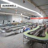 Macchina di rifornimento liquida di coperchiamento di riempimento di salto dell'acqua di Combiblock di prezzi di fabbrica di Sunswell