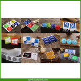 Étiquette/collant/étiquette programmables de papier imprimables de l'IDENTIFICATION RF NFC d'ISO14443A pour le téléphone
