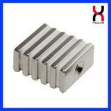 China-Neodym-Magnet-Fabrik-Würfel-Form angesenkter Magnet