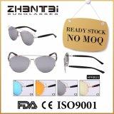 Cat Eye UV óculos de Moda Feminina400 com estrutura de aço inoxidável (HFF0023)