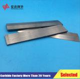 Tiras do carboneto de tungstênio para as facas de estaca de madeira