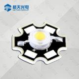 3W 420430nm 425nm Purpere LEDs van uitstekende kwaliteit met de Basis van de Ster