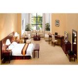 단단한 나무 별 세개 형식 호텔 침실 가구 세트 (S-37)