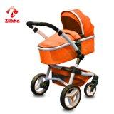 Nouveau design poussette de bébé de repliage de luxe à la norme européenne