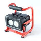 abnehmbare der Batterie-2PCS Arbeitszeit Ik09 Satz-des Flutlicht-6hour