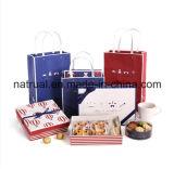Normalpapier-Pappverpackenpaket-leere Geschenk-Kästen, fantastisches Papier aufbereiteter Geschenk-Paket-Kasten