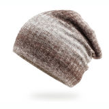 Form-graue Winter-Hutbeanie-Schutzkappe