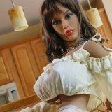 Bambola realistica di amore del sesso di certificazione 155cm del CE