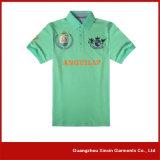 中国の工場はカスタマイズした人(P75)のための2枚のカラーポロのTシャツを