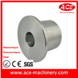 Soem-Aluminium, das hydraulisches Teil maschinell bearbeitet