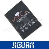 Fabrik lieferte kundenspezifische Firmenzeichen-Stickerei gesponnenen Kennsatz