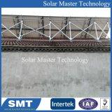 Personalizar el soporte de paneles solares fotovoltaicos de aluminio para techo