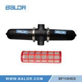 Простой и безопасной воды сетчатый фильтр с гибкостью