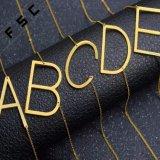처음 금 은에 의하여 도금된 합금 관례는 알파벳 펜던트 목걸이를 써 넣는다