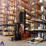Fabrik-Lager-Zahnstange Nanjing-China legt Gummireifen-stapelbare Ladeplatten-Zahnstange für Garage beiseite