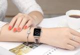 De de hete Hars van de Kleur van de Verkoop Elegante en Band van het Horloge van het Roestvrij staal voor het Horloge van de Appel