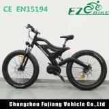 Vélo électrique de MI entraînement de pouvoir vert avec la pleine fourche de suspension