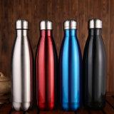 Fles van het Water van de Sporten van het Water van de Muur van het Roestvrij staal van multi-kleuren de Dubbele VacuümFles Geïsoleerden