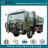 Sinotruk HOWO 6X6すべての車輪駆動機構18m3のダンプトラック