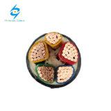 cabo distribuidor de corrente de cobre de 0.6/1kv 4X120+70mm2 PVC/PVC Sta