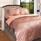高品質のTencel Jaccquardの柔らかい寝具セット