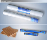 Du côté du rouleau d'étanchéité du tube automatique de papier peint Machine d'emballage thermorétractable