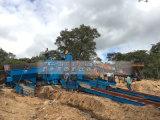 غانا زبونة طميّة نوع ذهب معمل غربال أسطوانيّ غسل معمل في [زمبيا]