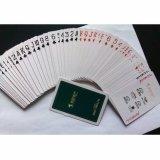 Cartão de PVC papel plástico impermeável a jogar póquer