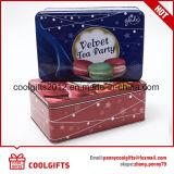 Nahrungsmittelgrad-Plätzchen-Metall, das rechteckigen Zinn-Kasten verpackt