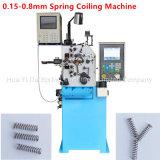 0.8Mm CNC Enroulement de printemps de la machine avec deux axes