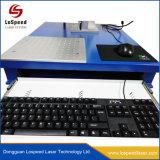 30W 50W gravura de marcação a laser de CO2 máquina de impressão para o couro e Plástico