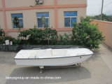 Canot de fibre de verre de bateau de Panga de bateau de pêche de console de centre de Liya 420
