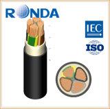 кабельная проводка сердечника 0.6KV 1KV подземная медная изолированная XLPE электрическая
