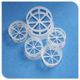 Le polypropylène PP PVC CPVC Emballage en plastique PVDF PTFE Pall anneau pour le remplissage d'emballage aléatoire