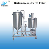 Carcasa de acero inoxidable cerveza automática de filtro Filtro de diatomita de cerveza