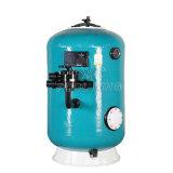 Filtro de Profundidad de montaje lateral con válvula para piscinas