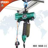 Alzamiento de cuerda eléctrico de alambre de Kixio 1t con la carretilla