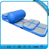 Lilytoys Dwf a employé la piste gonflable de matelas de dégringolade d'air de gymnastique