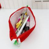 L'école mignonne de sacs de mémoire de papeterie de pastèque de peluche de sac de crayon de grande capacité fournit 1 PC