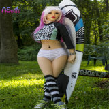 Bambola realistica di amore del sesso femminile del piccolo seno di certificazione 140cm del Ce per l'uomo