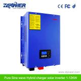 1-12kw Puissance solaire MPPT hybride de l'onduleur onduleur onduleur d'onde sinusoïdale pure