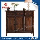 Armário de madeira de carvalho Ruifuxiang para sapatas (AL330)